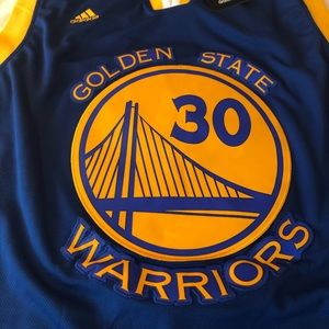 Stephen Curry Holden State Warriors Jersey MVP